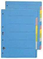 Register A4 blanko 6-farbig