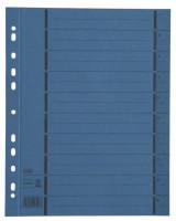 Elba Trennblätter A4 blau 100 Stück