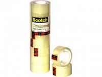 Scotch Klebeband 10 m x 19 mm 8 Rollen