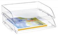 CEP Briefkorb A4 glasklar
