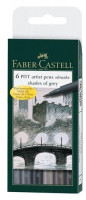 FABER-CASTELL TUSCHESTIFT SHADES OF GREY