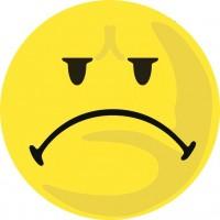 Wertungssymbol D100 Smiley gelb