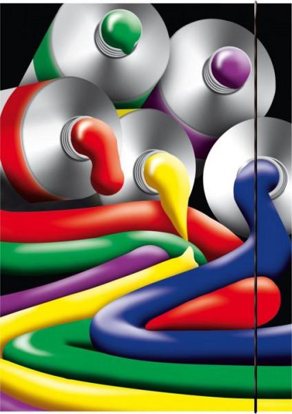 Zeichenmappe A3 Painting mit Gummizug