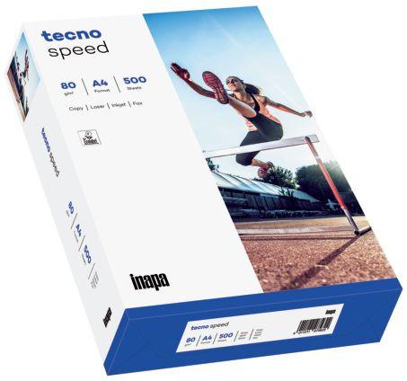 inapa tecno speed Druckerpapier A4 500 Blatt weiß