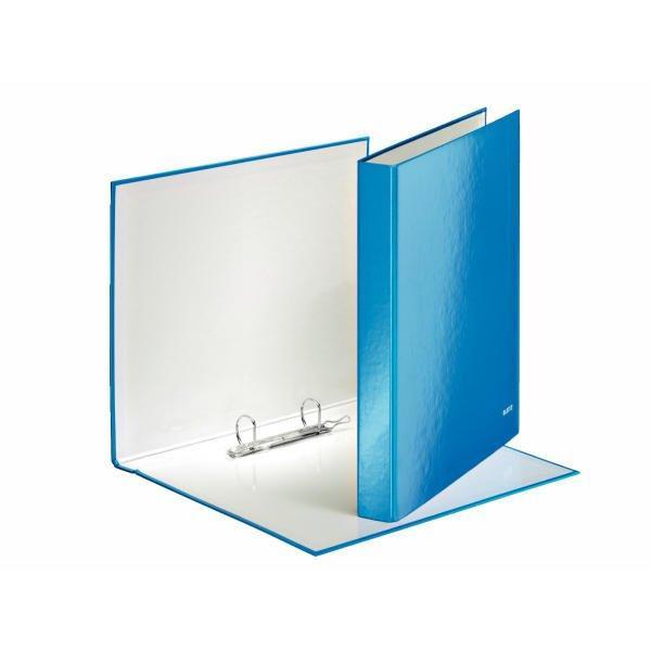 LEITZ Wow Ringbuch blau metallic