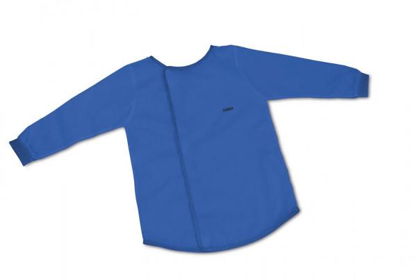 LAMY Malkittel mit Klettverschluss blau