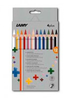 LAMY Farbstifte 4plus in 12er Faltschachtel