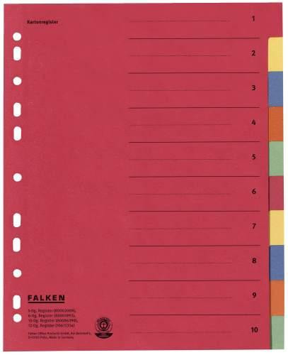 Ordnerregister Falken A4
