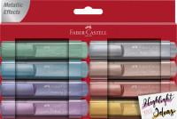 Faber-Castell Textmarker Metallic 8er Etui