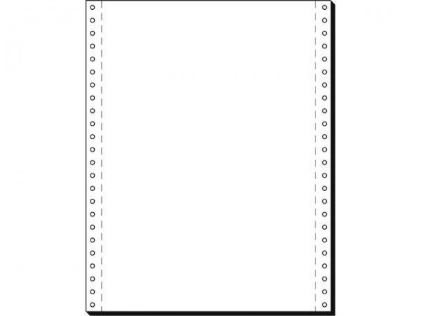 Computerpapier 12 x 240 2000 Blatt blanko