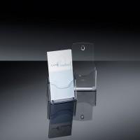 768073-Tisch-Prospekthalter-acrylic-1-Fach-fuer-DIN-lang-gla