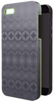 Leitz Retro Cover grau grün für iPhone 5