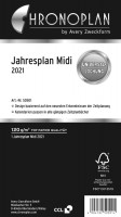 Chronoplan 50501 Jahresplan Midi 2021