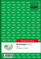 SIGEL SD031 Rechnungsbuch A5