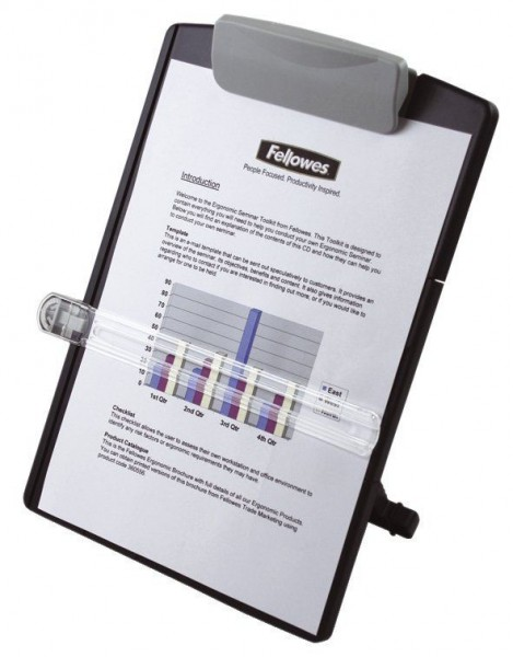 627687010-Fellowes-Konzepthalter-schwarz-silber-1