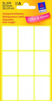 Zweckform 3045 Mini Organisationsetiketten
