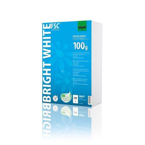 Sigel Ip150 Inkjetpapier 100g 500 Blatt Ultraweiß Beidseitig Bedruckbar