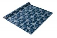Sigel Geschenkpapier Weihnachten blau silber