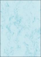 766691261-Design-Marmor-Papier-A4-100-Blatt-90-g-qm-blau