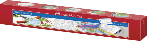 Faber-Castell Malrolle selbstklebend