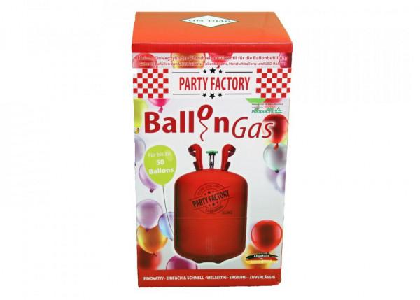 Ballongas/ Helium zum Befüllen von Ballons groß
