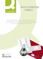 Selbstklebende Etiketten weiß 1200 Stück
