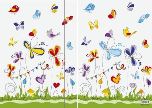 Zeichenmappe Sammelmappe Schmetterlinge A3