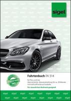 Sigel FA514 Fahrtenbiuch für PKW und LKW