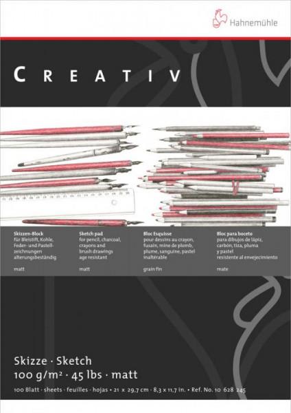 277060-Skizzenblock-Creativ-A3-100-g-qm-weiss-100-Blatt