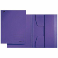 LEITZ Juris Mappe A4 Karton violett