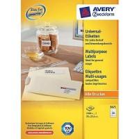 Avery Zweckform 3421 Etiketten