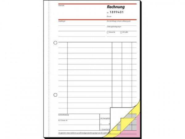 Rechnungen mit fortlaufender Nummerierung - A5