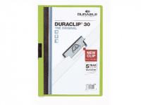 DURACLIP 30 Klemm-Mappe grün