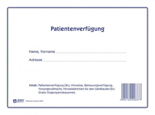 4004182028377-Avery-Zweckform-2837-Patientenverfuegung-DIN-A