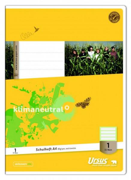 Ursus Schulheft Lineatur 1