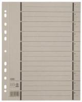 Trannblätter A4 Ãœberbreite grau 100 Stück