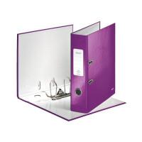 LEITZ Ordner WOW A4 violett metallic