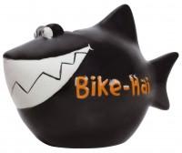Spardose Bike Hai Keramik