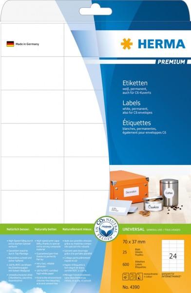 394390-Etiketten-Premium-weiss-70x37-mm-Papier-matt-600-St