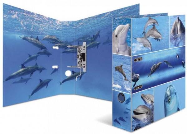 Herma Karton Motivordner A4 Tiere 7cm breit mit Innendruck