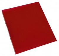 Ringbuch rot transparent