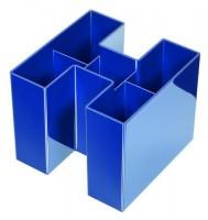 HAN Stifteköcher 5 Fächer blau