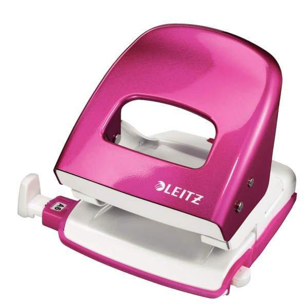 LEITZ Locher Metall pink metallic