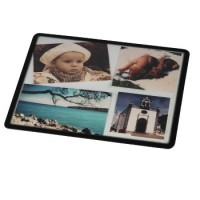 hama Mousepad mit Klarsichtauflage