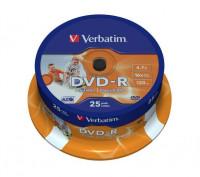 DVD-R Rohlinge Spindel 25 Stück