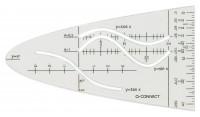 Q-Connect Parabelschablone