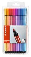 761370-Fasermaler-STABILO-Pen-68-Etui-mit-20-Farben