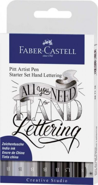 Faber-Castell Handlettering Tuschestift 8ST