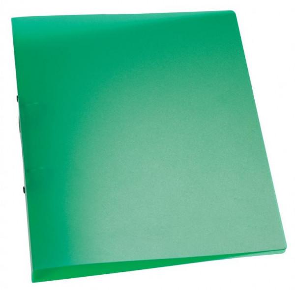 Q-Connect Schulordner grün transluzent