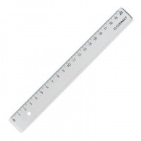 Lineal Plastik Economy 20 cm